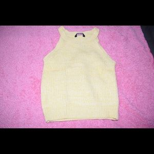 Sweatshirt tank top